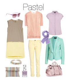 How to wear pastels - working wordrobe