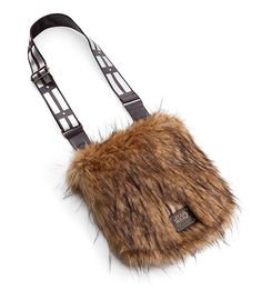 ThinkGeek is currently featuring a furry, officially licensed Star Wars Chewbacca messenger bag featuring a strap that looks like his iconic bandolier and bag flaps that resemble his fur. There&#82…