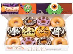 Alternativa Online > Notícias > Economia > Krispy Kreme lança no Japão donuts decorados com o tema Halloween