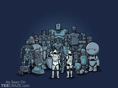 Not The Droids We Are Looking For  T-Shirt From Ript Apparel (TeeCraze)