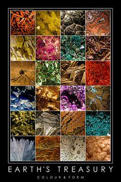 Earth's treasure... Beautiful minerals