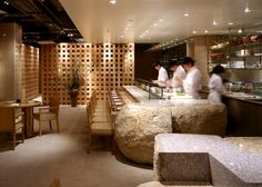 Restaurant design, japanese cuisine, zuma london