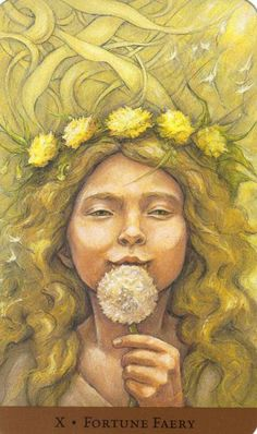 Fortune Faery - Tarot of the Hidden Realm
