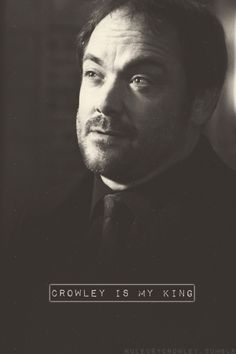 Crowley Supernatural, Supernatural Pictures, Supernatural Wallpaper, Kevin Tran, Mark Sheppard, My Guardian Angel, Winchester Brothers, Sam Winchester, Geek Humor