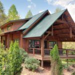 Wildwater's Jawbone Vacation Cabin Porch - Houses - Exterior - Timber Frame HQ - http://timberframehq.com/timberframephotos/houses-exterior/?utm_content=buffer5b5c2&utm_medium=social&utm_source=pinterest.com&utm_campaign=buffer