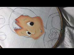 Pintura En Tela Chapulin Colorado # 1 con cony - YouTube