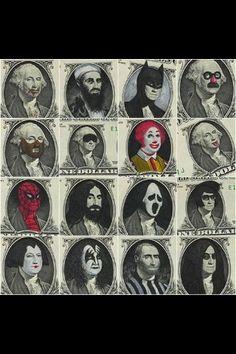 Dollar's art.