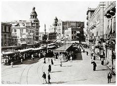 Tram Station In El-Ataba El-Khadra Square - Cairo In March 1919 | Flickr - Photo Sharing!