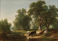 Asher B. Durand -  A Summer Afternoon, 1849