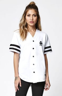 Young & Reckless Solid Play Baseball Jersey at PacSun.com