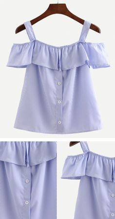 Cute Blouse - Off the shoulder is the most fashion item in this summer. Searching more amazing clothing at romwe.com