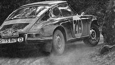 Vic Elford, Porsche 911. Monte Carlo 1967.