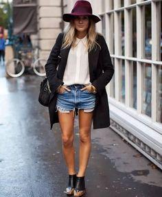 look-shorts-chapeu-inverno