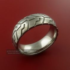 tire tread ring...this would be good for boys...