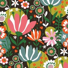 New gorgeous happy patterns by Helen Dardik of Orange You Lucky!