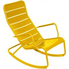 LUXEMBOURG by Fermob Rocking chair Miel