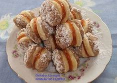 Photo Cookie Recipes, Dessert Recipes, Desserts, Smoothie Fruit, Poppy Cake, Hungarian Recipes, Hungarian Food, Small Cake, Cake Cookies