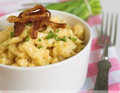 Want to learn to prepare a traditional German dish? Käsespätzle is a good one to start with!