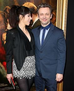 Sarah Silverman beamed at boyfriend Michael Sheen during the NYC premiere of his new film Far From the Madding Crowd (based on Thomas Hardy's classic novel) April Celebrity Couples, Celebrity Style, Madding Crowd, Dynamic Duos, Michael Sheen, G Eazy, Kelly Rowland, April 27, Hollywood Actor