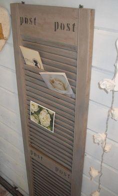 Foto: Louvredeurtje voor kaarten, foto's. straks leuk met de kerstkaarten. brandjebrocantje. Geplaatst door DietaAline op Welke.nl