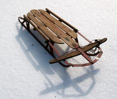 Image detail for -the picture above shows an old snow sled i have i have had this since ...