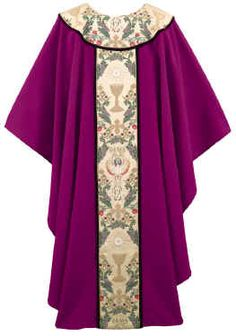 PURPLE TAPESTRY OF LIFE CHASUBLE