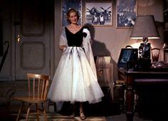 Rear Window Grace Kelly Paris dress with wrap