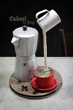 Coffee Afficionado's cake by Cakes! by Ying
