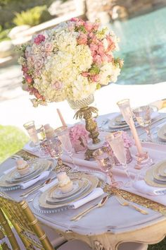 Vintage Glam Princess Birthday Party via Kara's Party Ideas | KarasPartyIdeas.com (41)