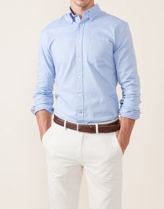 CAMISA OXFORD LISO