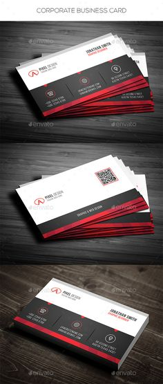 Corporate Business Card - Corporate Business Cards Download here : https://graphicriver.net/item/corporate-business-card/19356347?s_rank=75&ref=Al-fatih