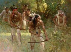 Il mondo di Mary Antony: ZS Liang: scene storiche della vita degli indiani d'America