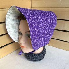 Purple Easter Bonnet Toddler Sun Hat BONNET Sun Hat #toddlersunhats