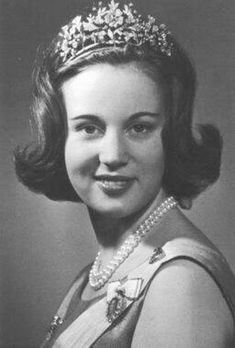 Princess Benedikte of Denmark wearing the floral tiara. Princess Benedikte of Denmark RE, SKmd, D.Ht. (Benedikte Astrid Ingeborg Ingrid; born 29 April 1944) is the second daughter of King Frederick IX of Denmark and Ingrid of Sweden. She is the younger sister of the reigning Queen of Denmark, Margrethe II, and the older sister of Queen Anne-Marie of Greece. She is married to Richard, 6th Prince of Sayn-Wittgenstein-Berleburg.