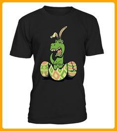 Teezily TRex Bunny Easter Egg Funny - Ostern shirts (*Partner-Link)