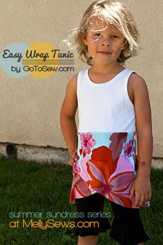 Wrap Top sundress tutorial by GoTo Sew for Melly Sews (30) Days of Sundresses