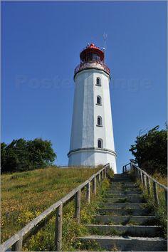 Poster Leuchtturm Dornbusch