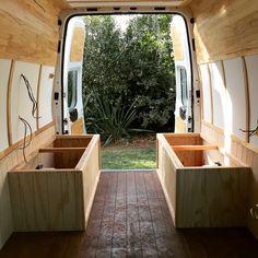 Ford Transit Rustic Camper Van