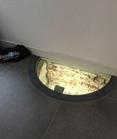 Beloopbare putdeksel 34 mm dik gelaagd veiligheidsglas