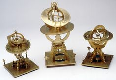 Universal equinoctial armillary dial - 18th c. Greenwich museum.