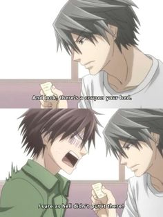Junjou Romantica Usagi-san being smooth af