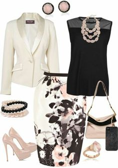 Cute Church Outfit Ideas Gallery casual church outfits for women 2020 become chic Cute Church Outfit Ideas. Here is Cute Church Outfit Ideas Gallery for you. Cute Church Outfit Ideas 32 cute church outfits ideas for everyone. Komplette Outfits, Office Outfits, Classy Outfits, Casual Outfits, Fashion Outfits, Womens Fashion, Fashion Trends, Church Outfits, Office Attire