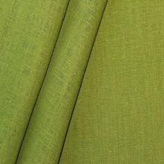 100% Leinen Stoff Farbe Mai Grün: Amazon.de: Küche & Haushalt