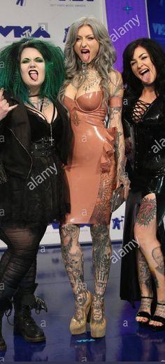 The Ryan Ashley pencil dress - Jane Doe latex Girl Tattoos, Women, Inked Girls, Model, Rocker Look, Girl, Pencil Dress, Fashion, Dresses