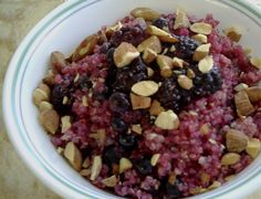 Mixed Berry & Almond Quinoa Bowl