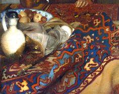 "The history of Johannes Vermeer´s ""A Maid Asleep"" - http://www.arteeblog.com/2015/04/a-historia-da-obra-de-johannes-vermeer.html"