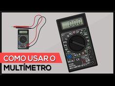 Como usar o multímetro - utilizando todas as escalas (testes + medições) - YouTube