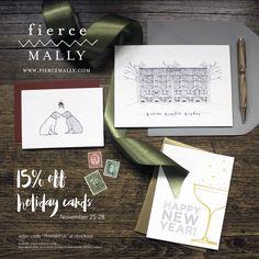 Holiday Sale www.fiercemally.com
