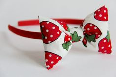 Strawberry Alice Band, £6