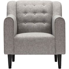 Sarreid Tufted Gray Chair